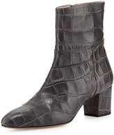 Altuzarra Callie Croc-Embossed Ankle Boot