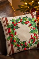 Traditional Wreath 13.5 Pillow