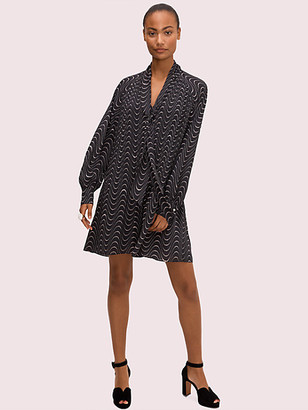 Kate Spade Wavy Dot Shift Dress