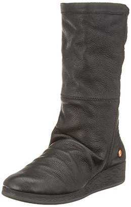 Softinos Women's Abbe555sof High Boots, (Black 000)