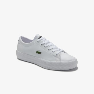 Lacoste Women's Gripshot Leather and Synthetic Trainers
