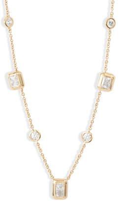 Nadri Mila Emerald Cut Necklace
