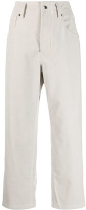 Sofie D'hoore Pollock corduroy cropped trousers