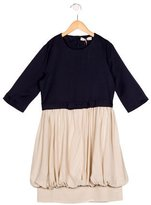 Stella McCartney Girls' Bow-Accented Long Sleeve Dress w/ Tags