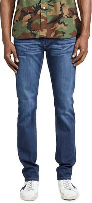 Paige Lennox Slim Jeans in Leo Wash