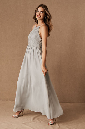 BHLDN Madrie Dress By in Silver Size 8