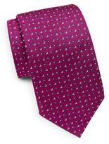 Eton Italian Silk Square Boxes Tie