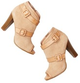 LOFT Selma Buckle Wrapped Booties
