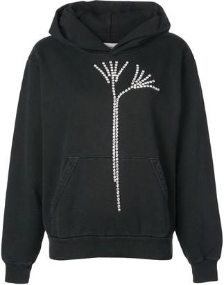 Beau Souci crystal embellished hoodie