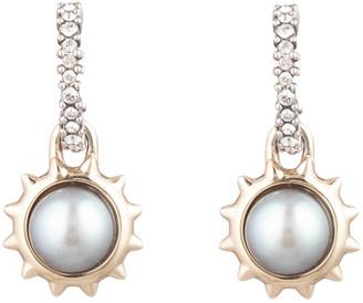 Alexis Bittar Georgian Pearl Drop Studs Earring