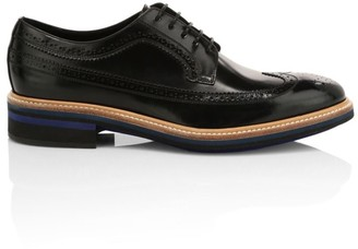 Paul Smith Chase Patent Leather Oxford Shoes