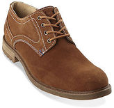 Hush Puppies Roghan Rigby Suede Plain-Toe Oxfords Casual Male XL
