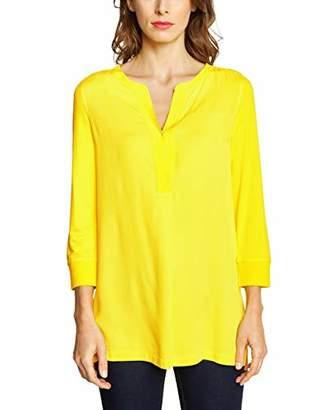 Street One Women's 313251 Longsleeve T-Shirt, (Sunshine Yellow 11708), 8 (Size: )