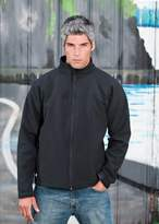 StormTech CXJ-1 Men's Crew Bonded Shell Jacket Black/Black