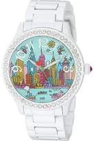 Betsey Johnson BJ00131-106 - Crystal Nyc Watches