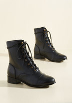 Flaunt Your Footwork Boot in Black in 11