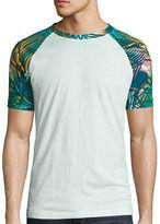 Arizona Short Sleeve Crew Neck Printed Varsity T-Shirt