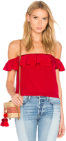 Amanda Uprichard Sleeveless Joanna Top