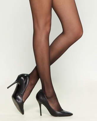 Calvin Klein Silken Sheer Control Top Tights