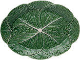 One Kings Lane Cabbage Oval Platter, Green