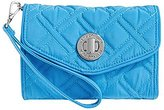 Vera Bradley Women's Your Turn Smartphone Wristlet Coastal Blue Clutch