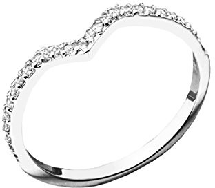 Canyon Women 925 Sterling Silver silver Zirconium oxide FINERING