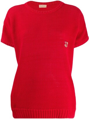 Versace Pre Owned 1980's Knitted Top