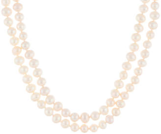 Splendid Pearls 8-8.5Mm Freshwater Pearl Endless Necklace