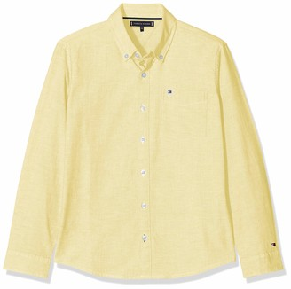 Tommy Hilfiger Boy's Solid Oxford Shirt Blouse