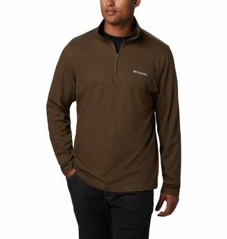 Columbia Men's Rugged Ridge 1/4 Zip Pullover Cotton Blend