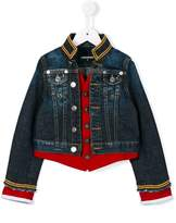 DSQUARED2 military style denim jacket