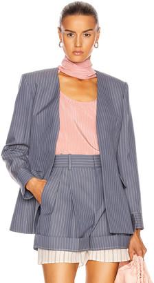 Chloé Pinstripe Blazer in Stormy Blue | FWRD