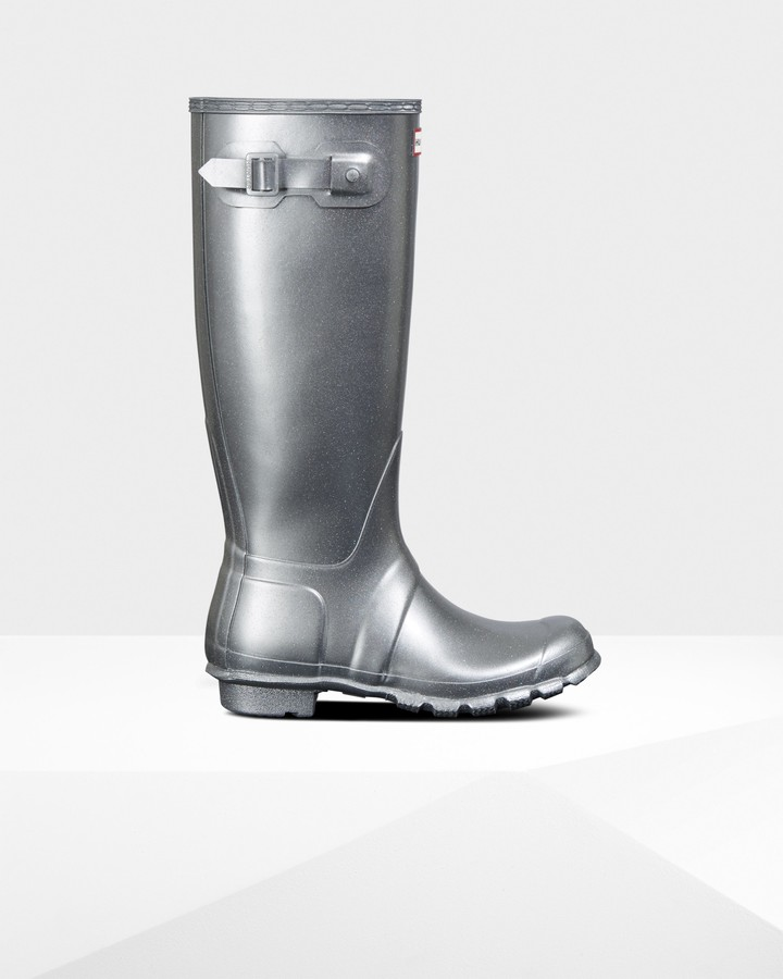 blakely glitter rain boot