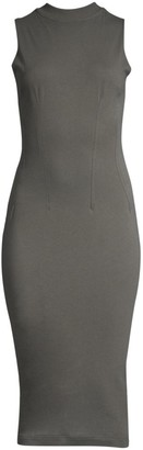 RtA Bandit Sleeveless Bodycon Midi Dress