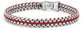 David Yurman Men's 10mm Woven Box Chain Bracelet
