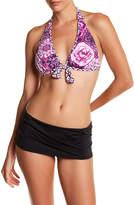 Tommy Bahama Pearl Shirred Swim Skirt