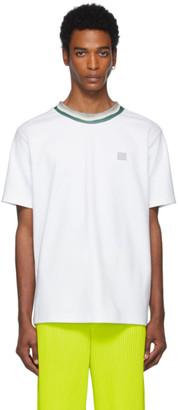 Acne Studios White Patch T-Shirt