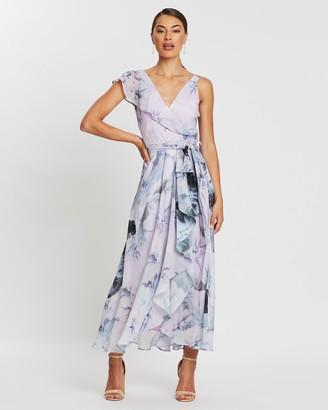 Melanie Soft Printed Chiffon Dress