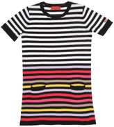 Sonia Rykiel Striped Knitted Cotton Dress