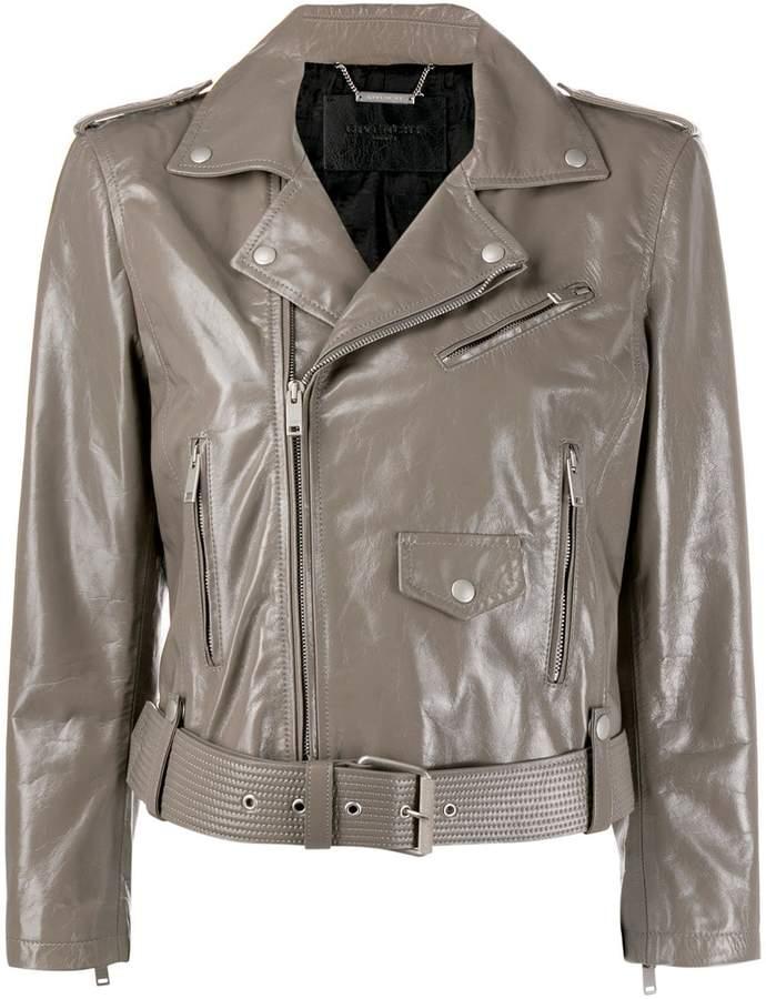 b17400b1e cropped biker jacket