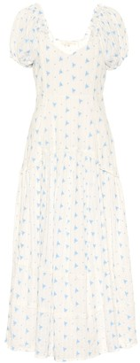 LoveShackFancy Exclusive to Mytheresa a Jeanette floral cotton midi dress