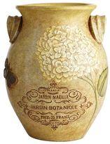 Pier 1 Imports Small Hydrangea Earthenware Urn Vase