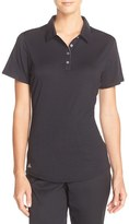 adidas Women's 'Essentials' Heathered Polo