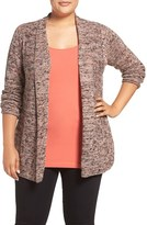 Nic+Zoe Plus Size Women's Tea Rose Knit Cardigan