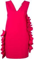 MSGM ruffle detail dress