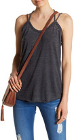 Chaser Drape Twisted Back Tank