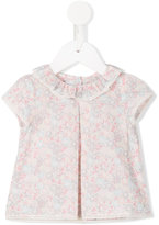 Tartine et Chocolat floral print blouse - kids - Cotton - 1 mth