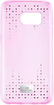 Swarovski Crystal Rain Smartphone Case with Bumper, Galaxy® S7, Pink