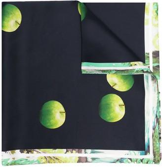 Paul Smith Printed Silk Scarf