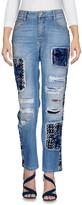 Ermanno Scervino Denim pants - Item 42608580